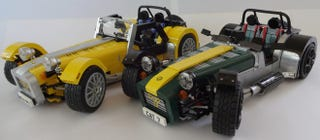 Illustration for article titled We Need To Make This Lego Caterham Super Seven Happen