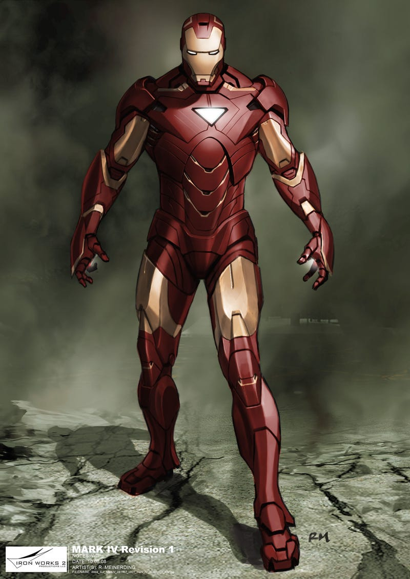 Illustration for article titled Design secrets of Iron Man 2: Suitcase armor, Whiplash and crazy improv!