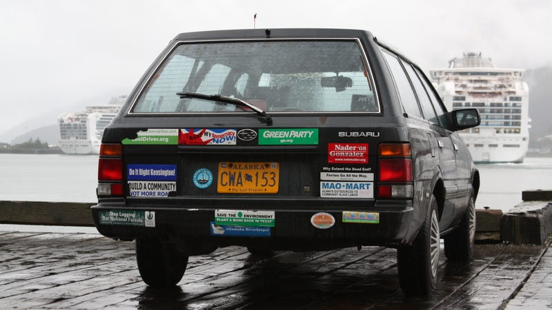 You Can Take Your Bumper Stickers And Get The Hell Out