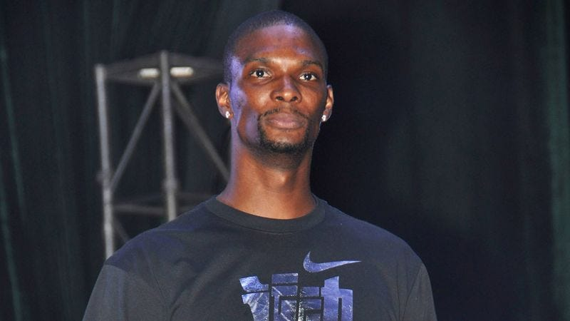 Illustration for article titled Chris Bosh Announces Plans To Spend NBA Lockout Playing Basketball Alone In Driveway