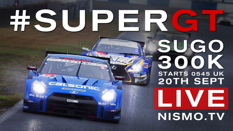 Illustration for article titled No, You Can't Be Done Watching Racing - Super GT Is On