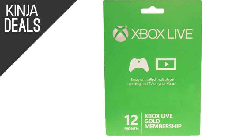 Illustration for article titled Extend Your Xbox Live Gold Membership For $3/Month