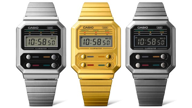 Casio Is Re-issuing the Futuristic Digital Watch Ripley Wore In Alien
