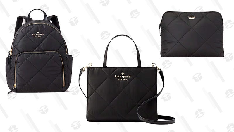 Select Nylon Purses and Pouches | Kate Spade | Promo code PERFECT