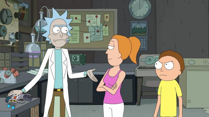 Rick And Morty (Image: Adult Swim)