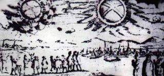 Illustration for article titled Xbox 360-Type Logo Appeared In 17th Century As Aliens?