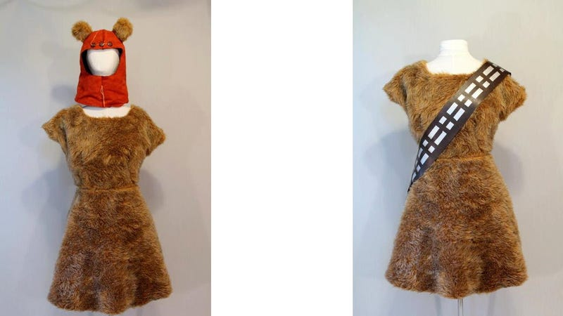 Illustration for article titled This Dual-Action Dress Flips from Wookie to Ewok in Under 12 Parsecs