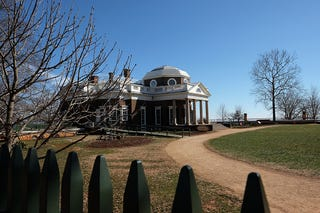 Monticello, home of Thomas Jefferson (Norm Shafer/for the Washington Post via Getty Images).
