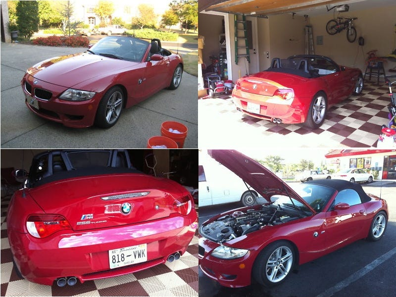 Illustration for article titled For $36,000, This Z4M is a 500-Horse Open Sleigh