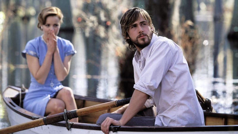 Illustration for article titled Nicholas Sparks: Actors Didn't Want the Role of Noah From The Notebook