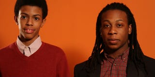 Idris Brewster and Oluwaseun Summers (Andrew Bui)