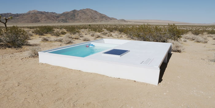 You Can Swim In A Secret Pool In The Mojave Desert If You