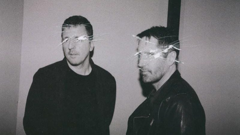 Nine Inch Nails' Atticus Ross and Trent Reznor. (Photo: John Crawford)