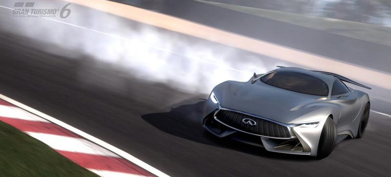 Illustration for article titled Behold Infiniti's Digital Car For Gran Turismo 6
