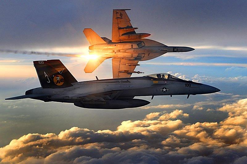 Illustration for article titled F/A-18 Super Hornets Over Afghanistan