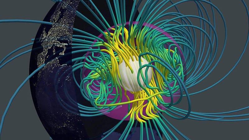 Spaghetti planet (Image: N. Schaeffer/ISTERRE