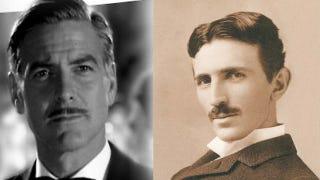 Illustration for article titled Does Brad Bird's mysterious new science fiction movie star George Clooney as Nikola Tesla? Maybe.