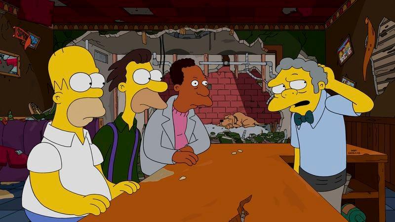 Homer, Lenny, Carl, Moe (Fox)