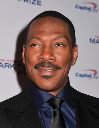 Honoree Eddie Murphy poses on the red carpet during the 18th annual Mark Twain Prize for American Humor at the John F. Kennedy Center for Performing Arts Oct. 18, 2015, in Washington, D.C.Kris Connor/Getty Images