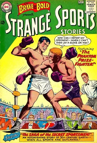 Illustration for article titled Strange Sports Stories Comics