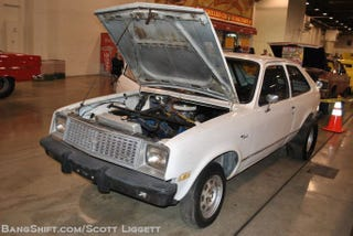 """Illustration for article titled 500 Cubic Inch Engined Chevette """"Bad Seed"""""""