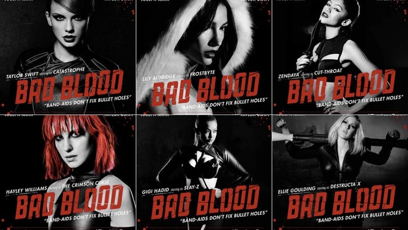 Illustration for article titled What Is Taylor Swift's New 'Bad Blood' Video About? A Few Theories