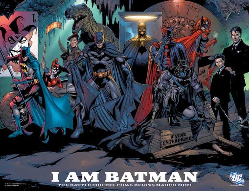 Illustration for article titled Meet The New Batman - Um, Batmen?