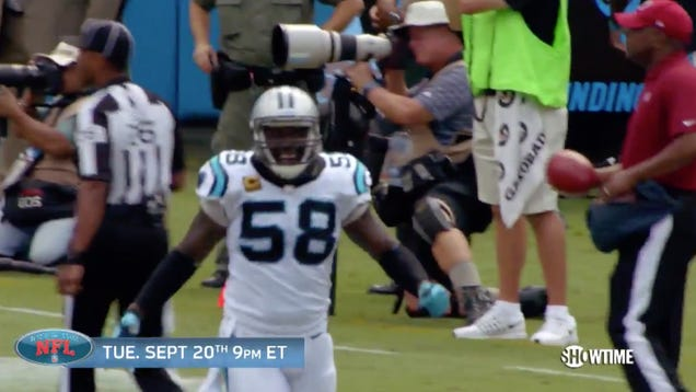 Look At How Excited Thomas Davis Is