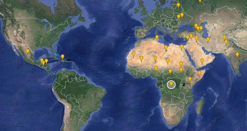 Illustration for article titled Las zonas del mundo que más preocupan a los espías de EE.UU.