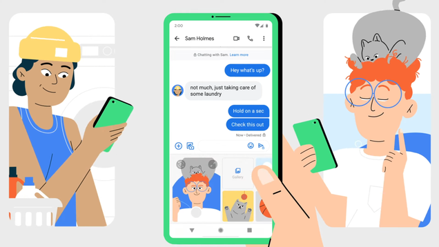 Google Messages Is Finally Getting Support for End-to-End Encryption
