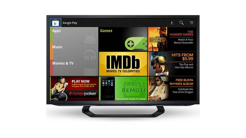 Illustration for article titled Google Play Just Gave Google TV a Reason to Exist