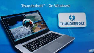 Illustration for article titled Thunderbolt Is Coming to Windows in 2012