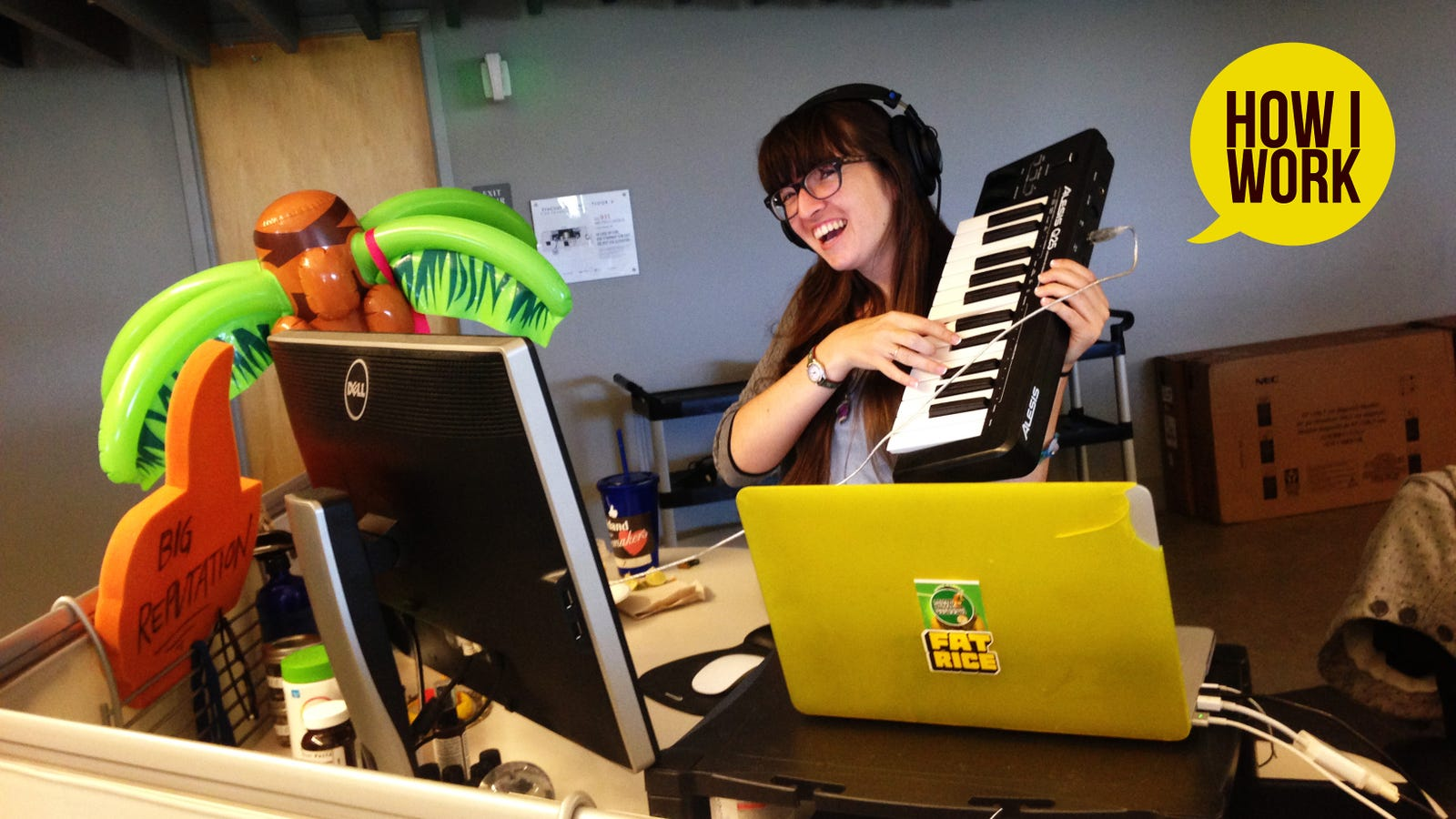 QnA VBage I'm Pandora Music Analyst Hannah Glass, and This Is How I Work