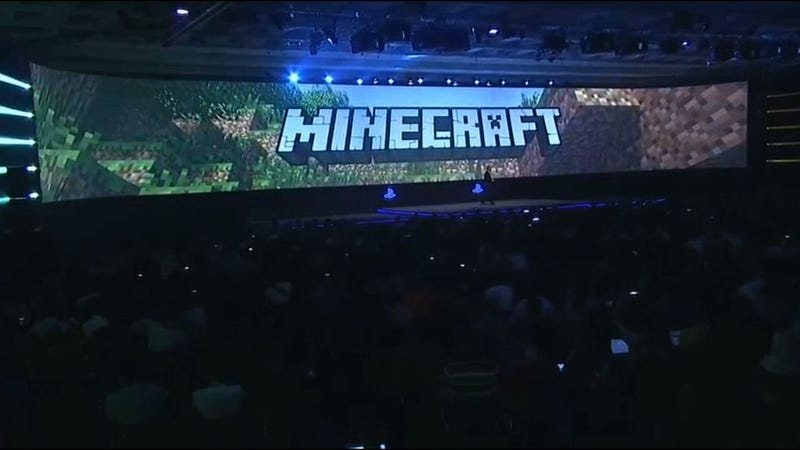 Illustration for article titled Minecraft Coming To PS4 At Launch [And PS3, And Vita]