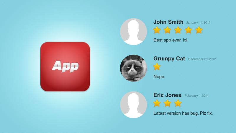 Illustration for article titled Why You Shouldn't Trust App Store Reviews (and What to Trust Instead)