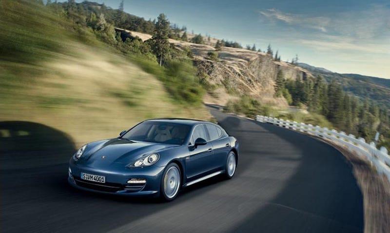 Illustration for article titled 2010 Porsche Panamera: More Four-Door Photos
