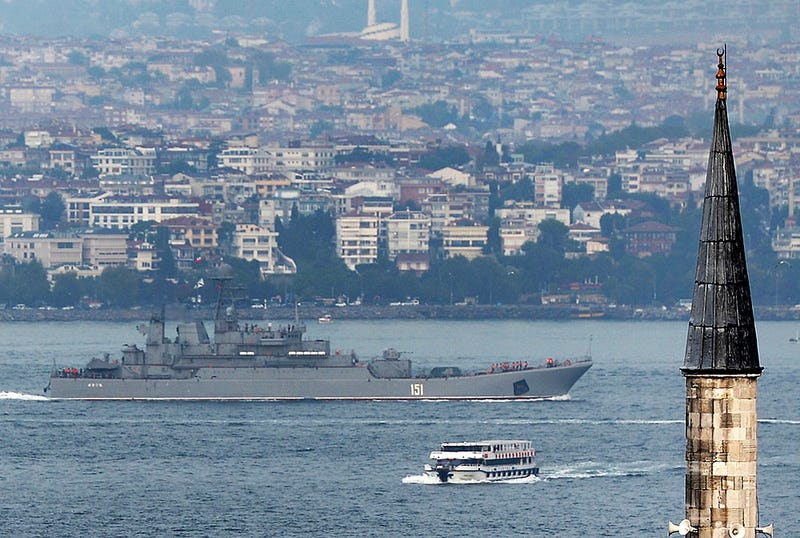 Illustration for article titled Turkey May Be Hinting At Playing Its Trump Card, Blocking Russia's Bosphorus Access