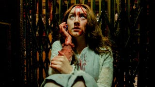 Illustration for article titled First bloody clip from Saoirse Ronan's vampire movie Byzantium is haunting