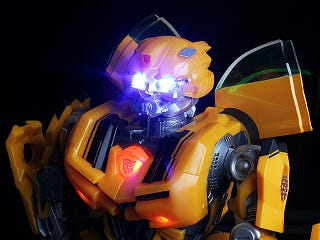 Illustration for article titled Bumblebee Speaker Dances, Mixes Music with Transformers SFX