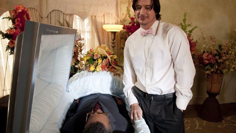 "Illustration for article titled Party Down: ""James Ellison Funeral"""