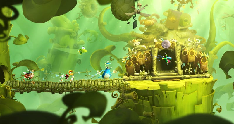 Illustration for article titled Why Rayman Legends Could End Up Being My Favorite Game of All Time