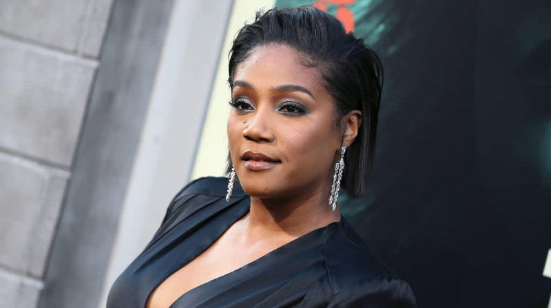 Tiffany Haddish at the premiere of her movie The Kitchen Aug. 5, 2019, in Hollywood