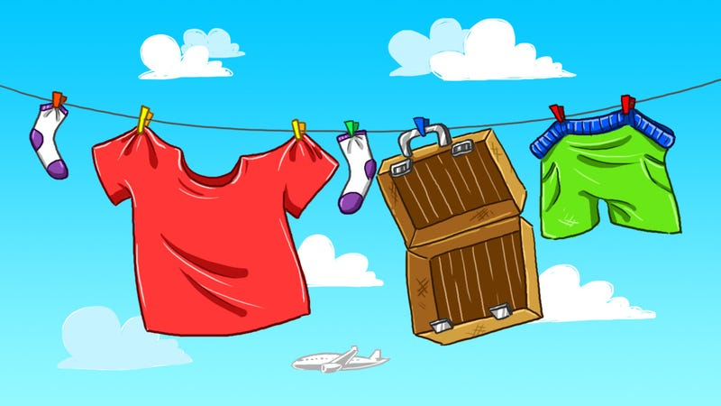 Illustration for article titled How to Do Laundry While Traveling