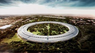 Illustration for article titled Jobs' Spaceship Apple Headquarters: A Dream 30 Years In the Making