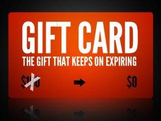 Illustration for article titled How to Avoid Wasting Another Gift Card