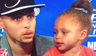 Illustration for article titled Riley Curry Feels Blessed