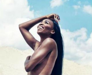Venus Williams poses nude for ESPN the Magazine's sixth annual Body Issue.Screenshot Twitter