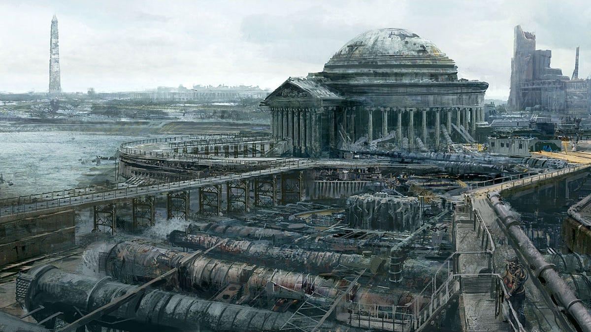 remembering fallout 3 s fantastic concept art