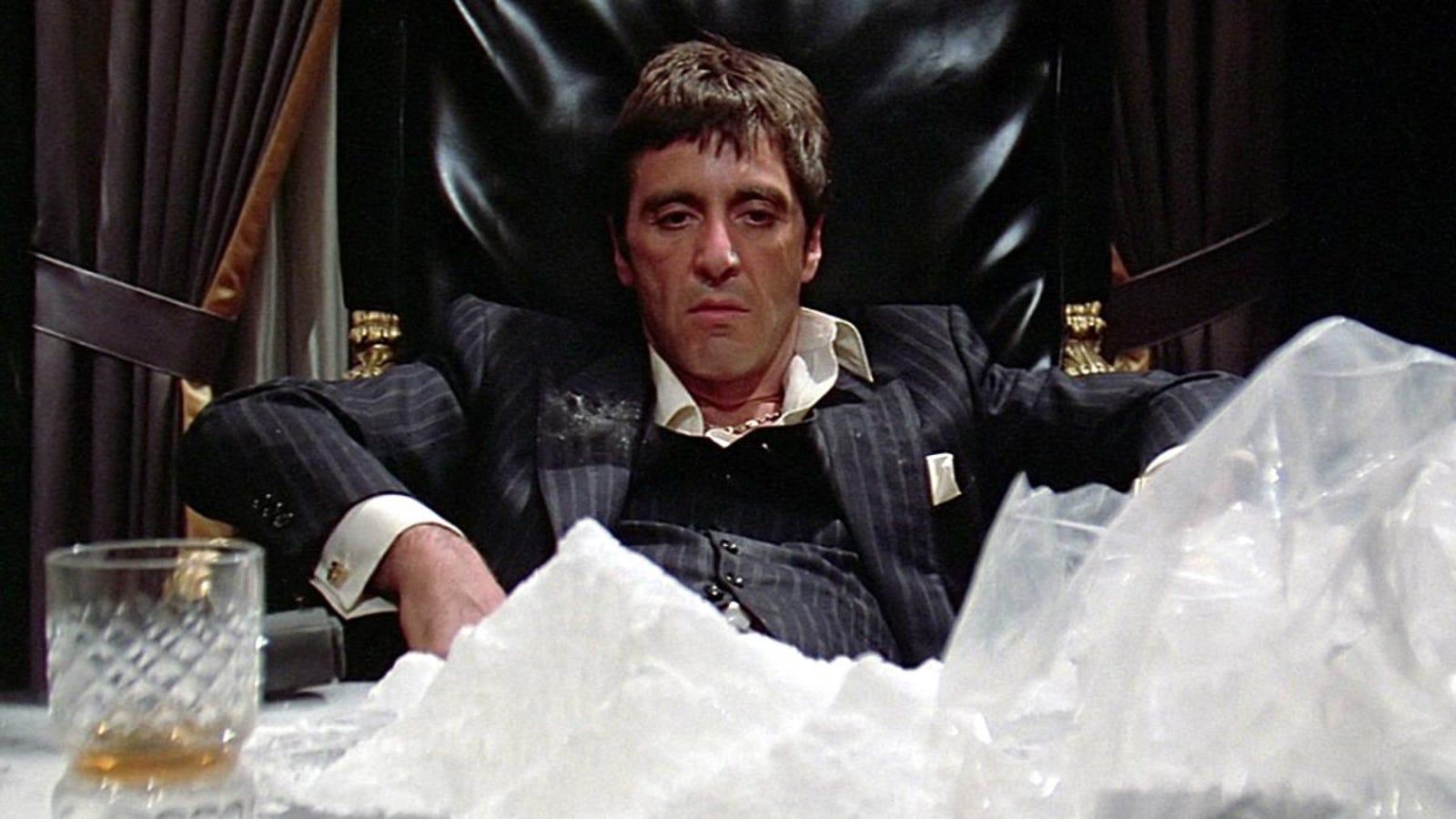 ¿Qué es en realidad el polvo blanco que esnifan los actores en las películas?