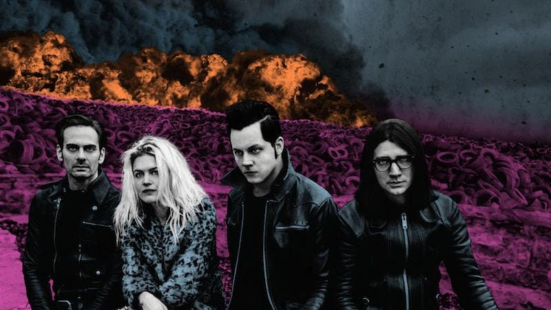 Illustration for article titled Jack White reignites The Dead Weather